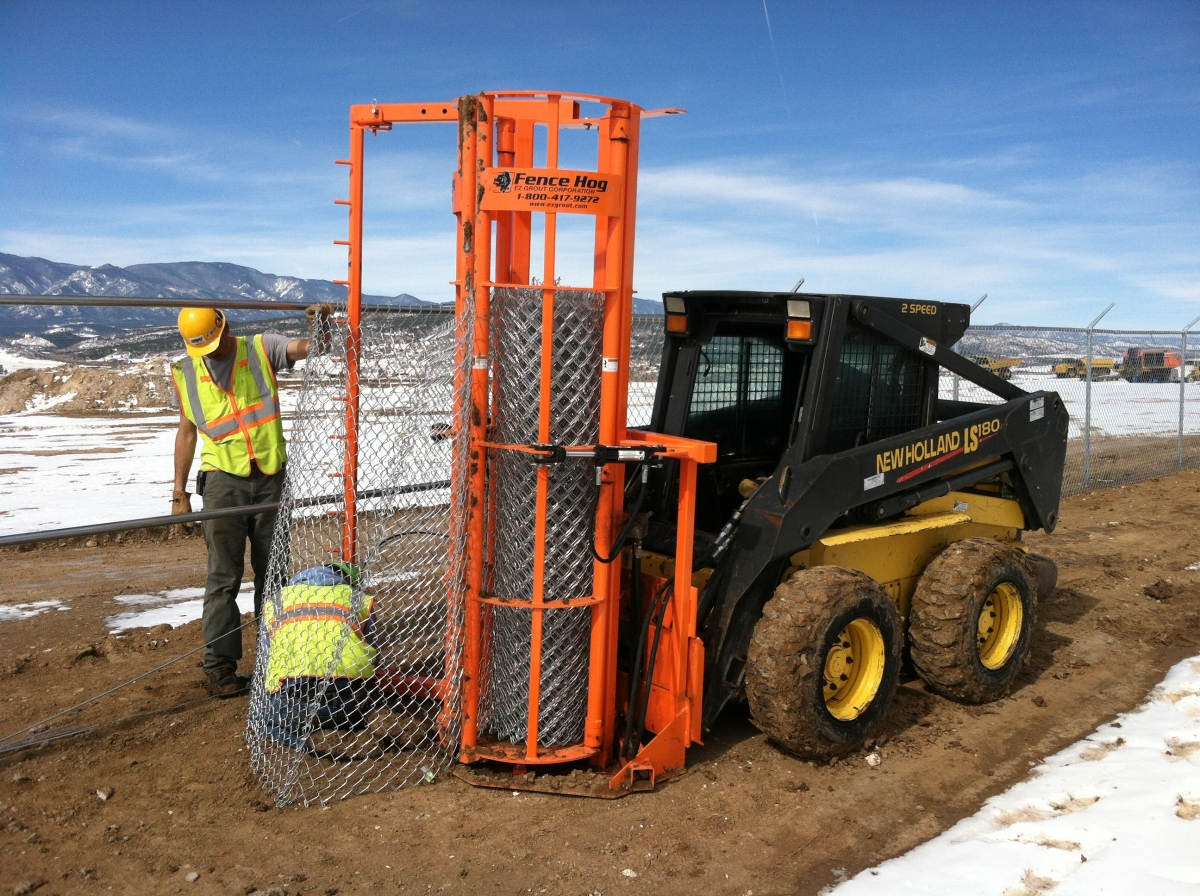 Commercial Fence Construction High Country Fence