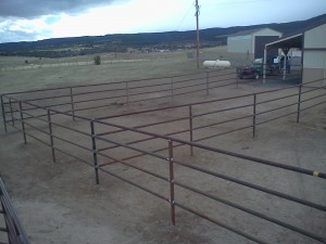 Corrals Amp Pipe Fence High Country Fence